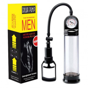 Delux Meter Gauge Penis Enlargement Pump